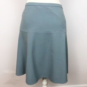 NWT Calvin Klein Drop Waist 8 Dusty Blue Skirt